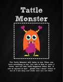 Chalkboard Tattle Monster