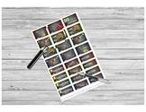 Chalkboard Teacher Sticker Sheet PRINTABLE for Teacher Planner