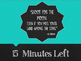 Chalkboard Theme 15 Minute Timer with Inspirational Quotes