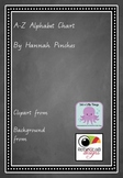 Chalkboard Theme Animal Alphabet Chart - Handwriting A-Z - Entries & Exits
