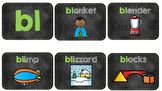Chalkboard Theme -Blends Bundle Pack