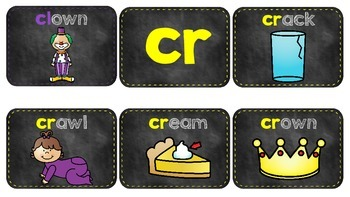 Chalkboard Theme -Blends (Cl and Cr)