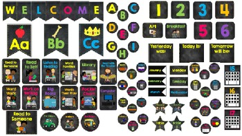 Chalkboard Theme Classroom Pack