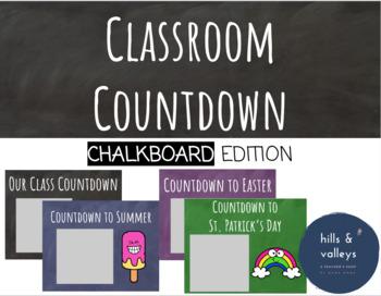 Chalkboard Theme Countdown