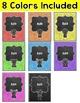 Chalkboard Theme Editable Binder Covers