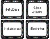 Chalkboard Theme Labels