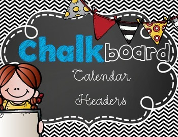 chalkboard theme months of the year classroom decoration tpt