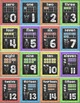 Chalkboard Theme Numbers Posters - Editable for any language