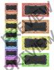 Chalkboard Theme Teacher Toolbox Labels - Editable Labels