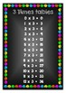 Chalkboard Theme Times table Posters