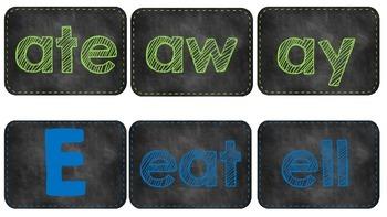 Chalkboard Theme - Word Families