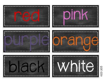 Chalkboard Word Wall Kit: Journeys Edition