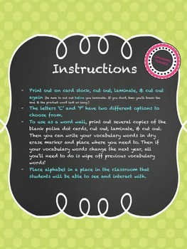 Chalkboard Theme for Classrooms