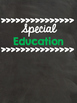 Chalkboard Binder Covers