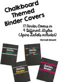 Chalkboard Binder Covers