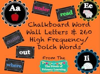 Chalkboard Themed Classroom Decor Package