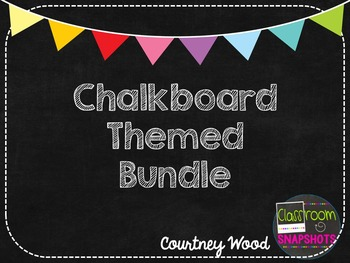Chalkboard Themed Decor Bundle