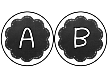 EDITABLE Chalkboard Word Wall Ribbons (includes first 300 Fry Words & Headers)