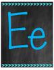Chalkboard Themed Print Alphabet