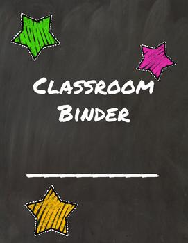 Chalkboard Ultimate Teacher Binder
