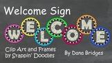 Chalkboard Welcome Sign