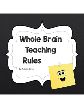 Chalkboard Whole Brain Teaching Rules