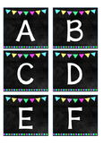 Chalkboard Word Wall Header
