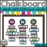 Chalkboard Word Wall Set EDITABLE