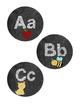 Chalkboard Word Wall Word Headers