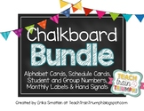 Chalkboard and Bright Bunting BUNDLE!!