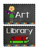 Chalkboard and Brights (Black and Brights) Classroom Decor