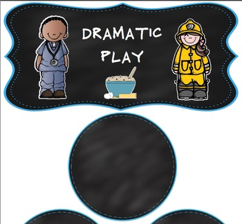 Chalkboard and Brights Classroom Bundle