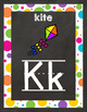 Chalkboard and Brights Classroom Decor Set (Mega Bundle)