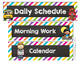 Chalkboard and Brights Schedule Cards-Classroom Decor