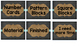 Chalkboard and Burlap Decor Pack
