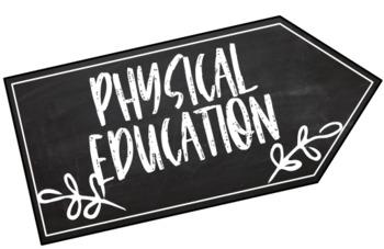 Chalkboard and Burlap Classroom Decor Signs