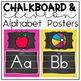 Classroom Decor Bundle In Chalkboard and Chevron