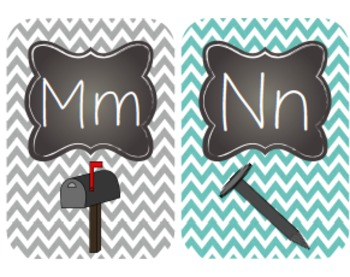 Chalkboard and Chevron, Oh My! EDITABLE Old School Classroom Decor Pack