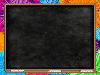Chalkboard and Fireworks Backgrounds