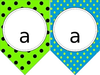 Chalkboard and Patterns Pennants