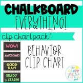 Chalkboard-themed Behavior Clip Chart