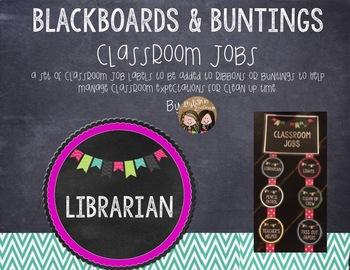 Blackboards & Buntings Classroom Jobs