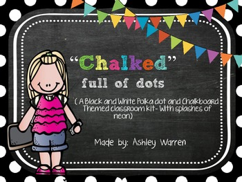 """""""Chalked"""" full of Dots"""