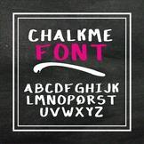 Chalkme Font