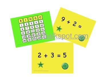 Addition Bingo, Plus 2: MAC (CCSS Aligned)