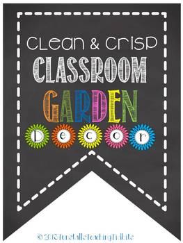 Chalky Classroom Garden Decor
