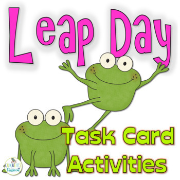 Challenge 29 for Leap Day {Task Cards and Game}