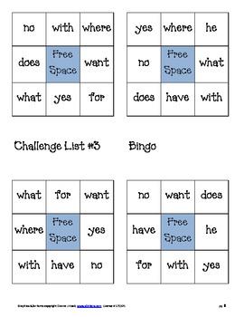 Challenge List #3 Activities