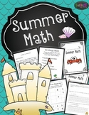 Challenge Math and Summer Math {books and activities}