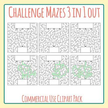 Challenge Maze - Which Path?  3 Entrances 1 Exit.  Hard Ma